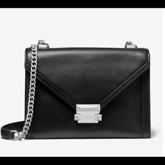 cc747090c057 Whitney large leather convertible shoulder bag